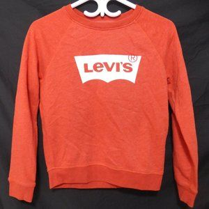 LEVIS, SAN FRANCISCO, CAL orange sweatshirt, BNWOT